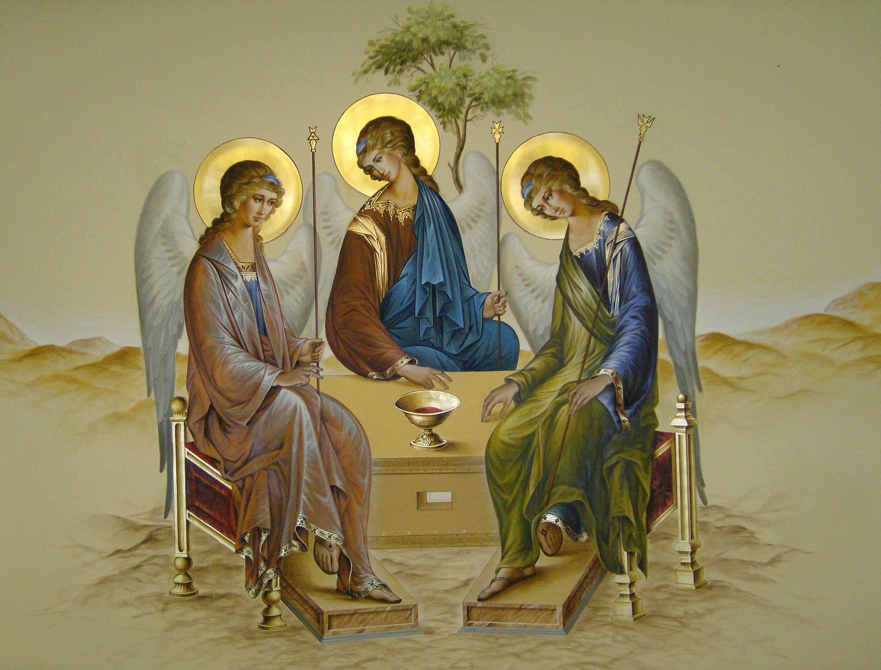троица католическая картинки первой фотографии