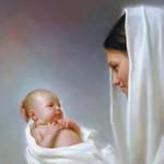 Mary Holding Jesus - bigger