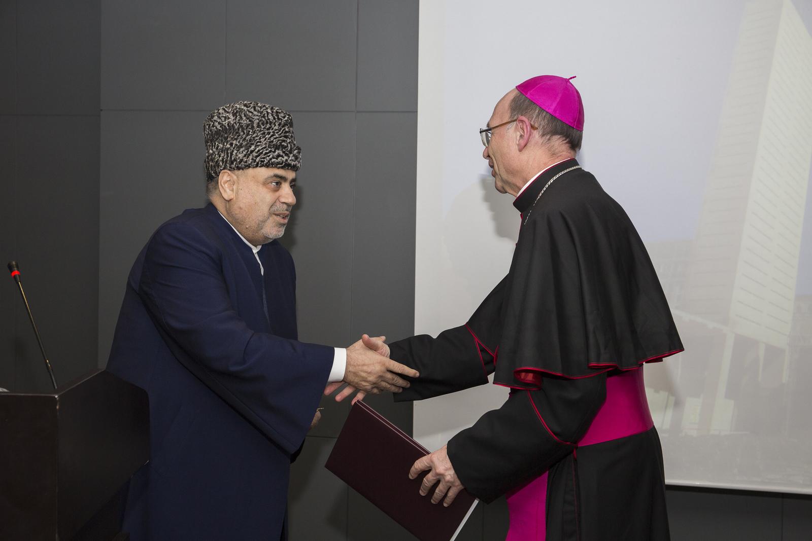 Прием по случаю епископской хиротонии монсеньора Владимира Фекете