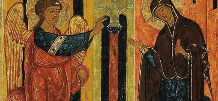 Торжество Благовещения Господне 25 марта 2020 – святая месса в Часовни Христа Искупителя (18:00)